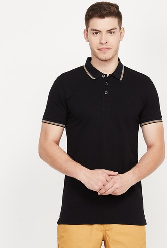 UNITED COLORS OF BENETTON Solid Slim Fit Polo T-shirt