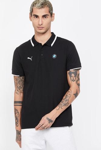 PUMA Solid Short Sleeves Regular Fit Polo T-shirt
