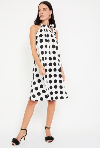 VERO MODA Women Polka-Dot Print A-line Dress