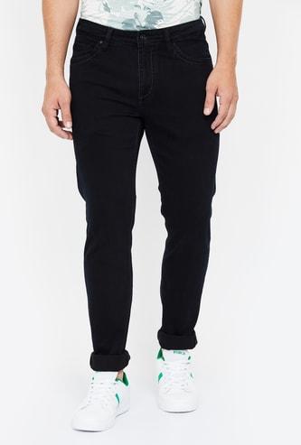 BLACKBERRYS URBAN Solid Skinny Fit Jeans