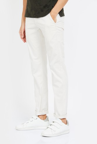 LEVI'S Solid Slim Fit Chinos