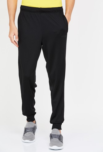 ADIDAS Solid Elasticated Regular Fit Joggers