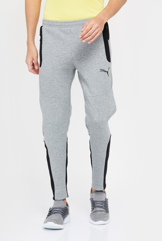 PUMA Colourblocked Trackpants with Zipped Pockets