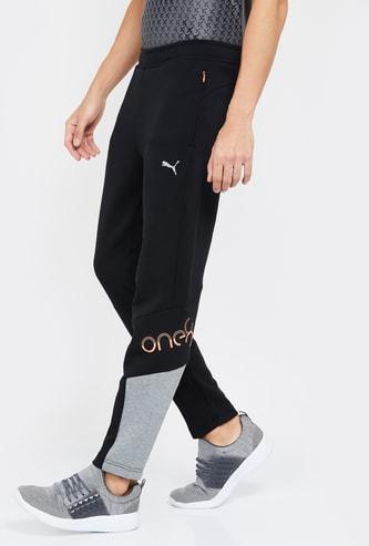 PUMA Panelled Detail Elasticated Track Pants