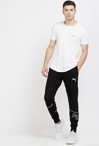 PUMA Printed Elasticated Regular Fit Joggers