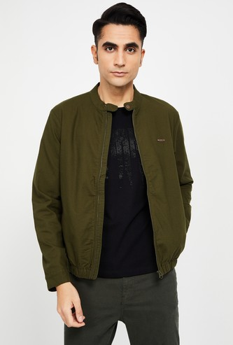 T-BASE Solid Casual Jacket