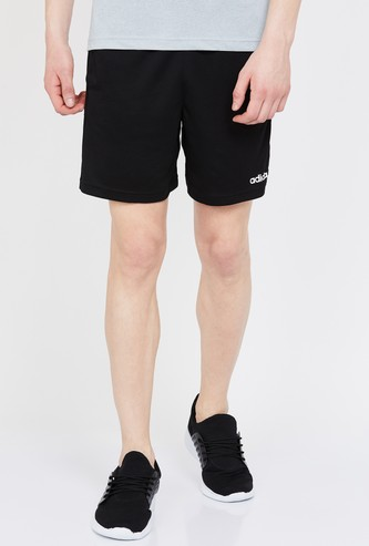 ADIDAS Striped Regular Fit Sports Shorts