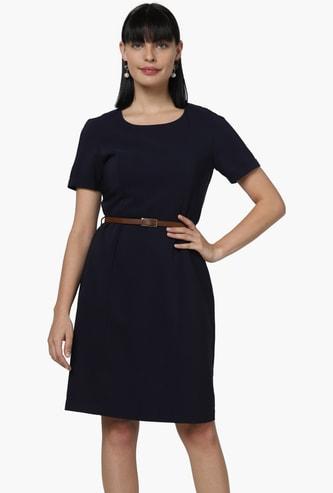 VERO MODA Soldi Sheath Dress with Belt