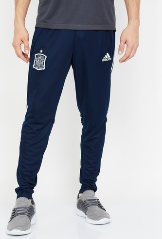 ADIDAS Printed Elasticated Regular Fit Track Pants
