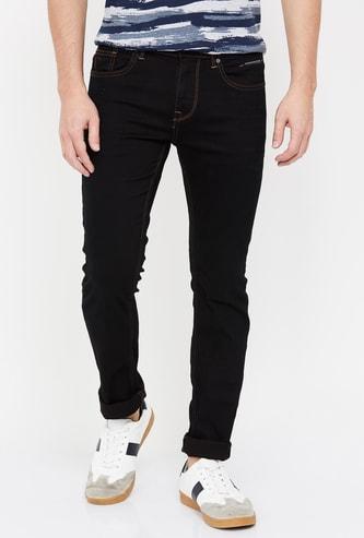 ROOKIES Men Solid Skinny Fit Jeans