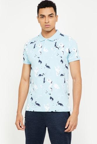 PUMA Printed Regular Fit Polo T-shirt
