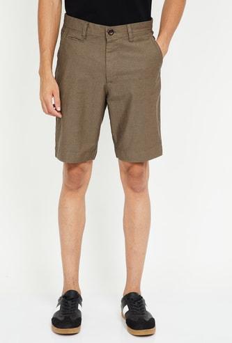 FAHRENHEIT Printed Casual Shorts