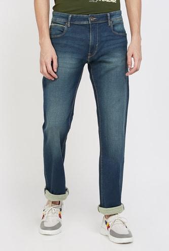 PEPE JEANS Holborne Dark Washed Regular Fit Jeans