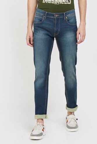 PEPE JEANS Vapour Dark Washed Skinny Fit Jeans