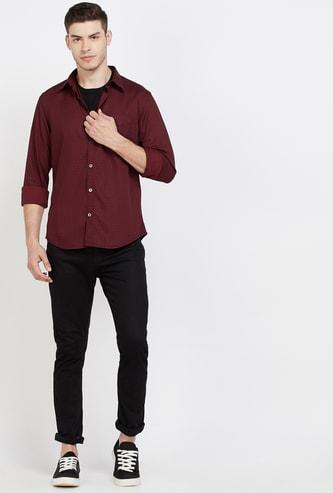 INDIAN TERRAIN Printed Super Slim Fit Casual Shirt