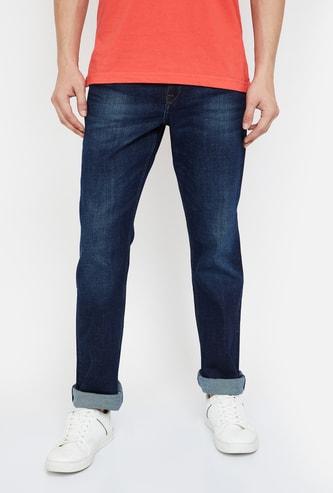 LEE Stonewashed Regular Tapered Jeans