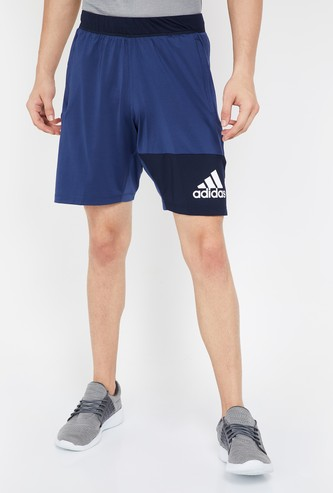 ADIDAS Colourblock Regular Fit Training Shorts