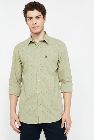 ARROW SPORT Printed Slim Fit Casual Shirt