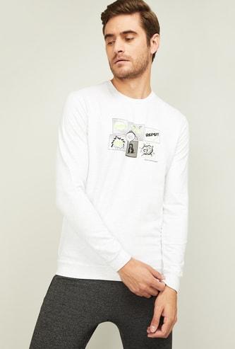 KAPPA Men Conversational Print Sweatshirt