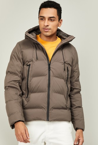 UNITED COLORS OF BENETTON Men Solid Puffer Jacket