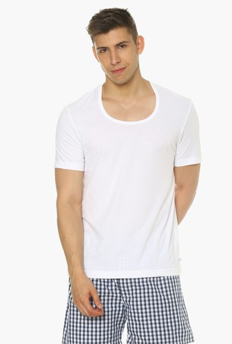 JOCKEY Elance Sleeved Round Neck Undershirt