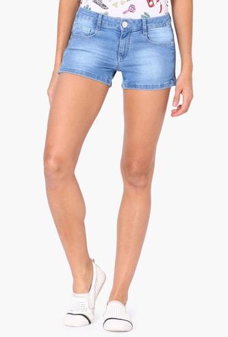 MAX Slim Fit Denim Shorts