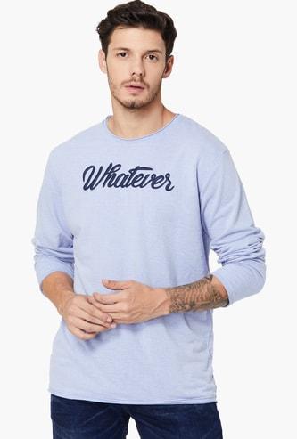 MAX Melange Patchworked Sweatshirt