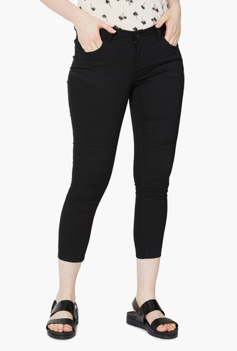 MAX Skinny Fit Cropped Jeans
