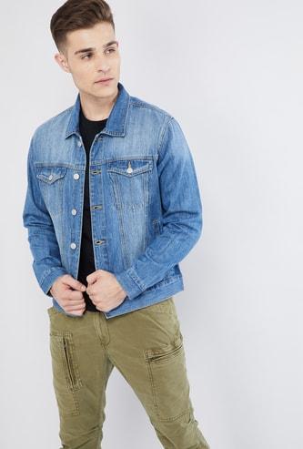 MAX Denim Full Sleeves Jacket