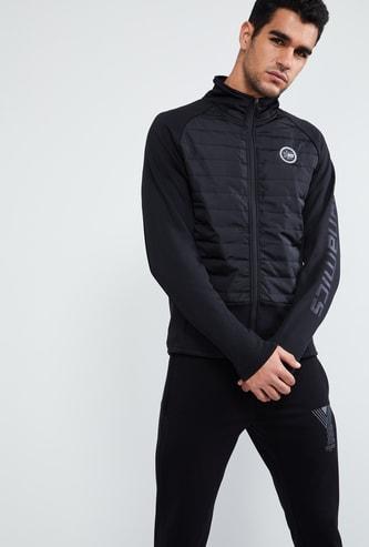 MAX Quilted Zip-Up Jacket