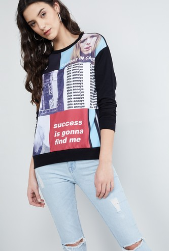 MAX Graphic Printed Sweatshirt