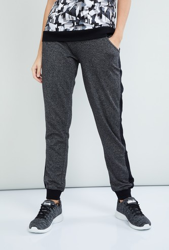MAX Textured Tie-Up Detail Joggers