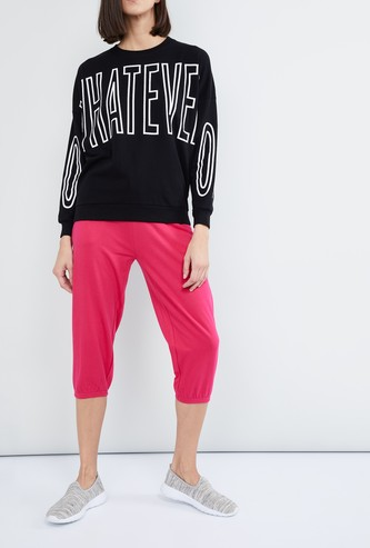 MAX Knitted Gym Capris