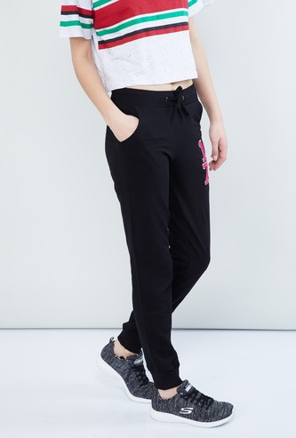 MAX Patchwork Detail Joggers