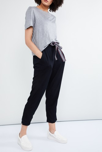 MAX Tapered Tie-up Pants
