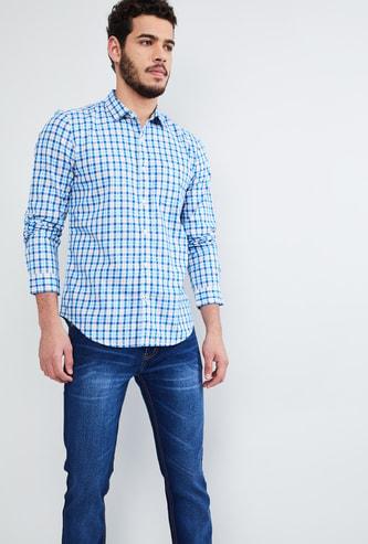 MAX Checked Long Sleeves Shirt