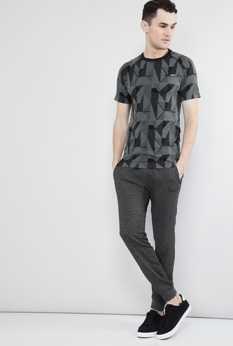 MAX Geometric Print Short Sleeves T-shirt