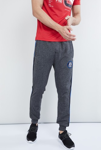 MAX Grindle Textured Piping Detailed Joggers