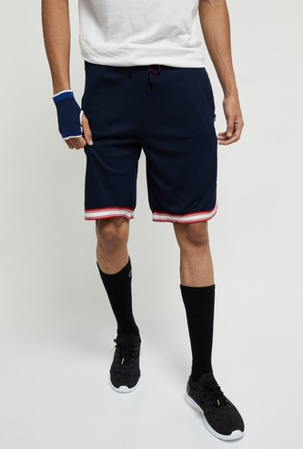MAX Textured Shorts with Zip Pockets