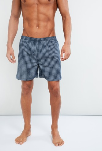 MAX Checked Combed Cotton Boxers
