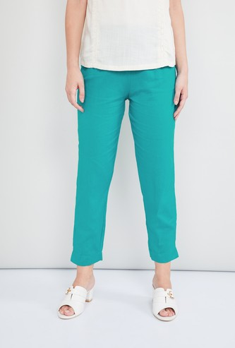 MAX Solid Tapered Pants
