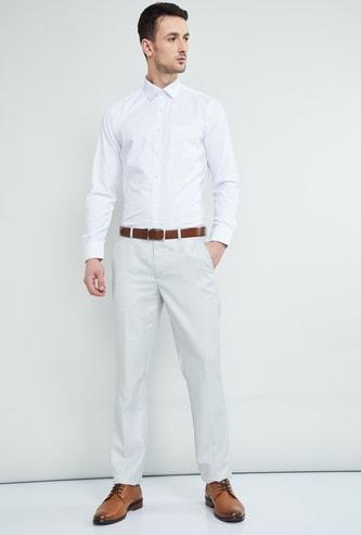 MAX Slim Fit Dobby Formal Shirt