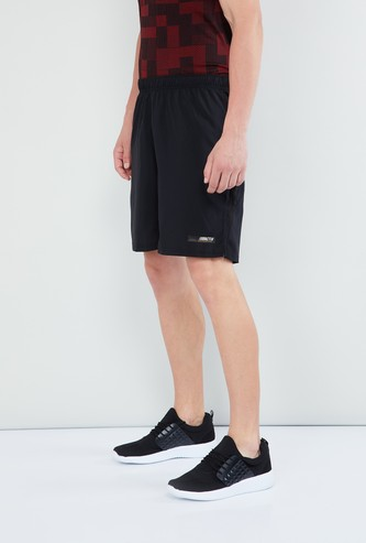 MAX Solid Woven Sports Shorts