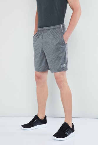 MAX Solid Panelled Sports Shorts