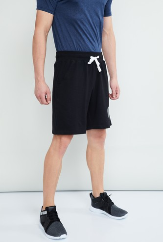 MAX Solid Regular Fit Sports Shorts