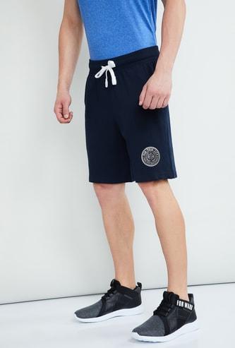 MAX Solid Regular Fit Sports Shorts