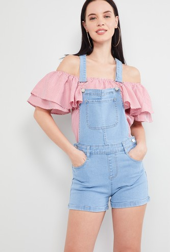 MAX Solid Dungarees