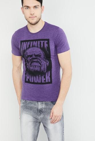 MAX Avengers Print Crew-Neck T-shirt