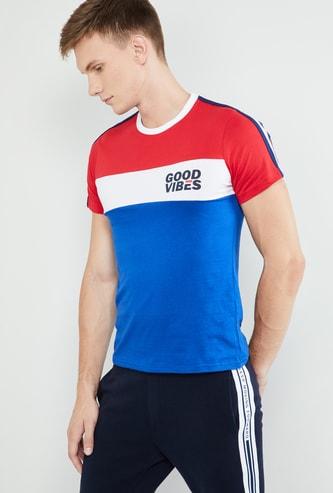 MAX Colourblock Short Sleeves Slim Fit T-shirt