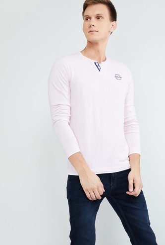MAX Solid Full Sleeves T-shirt